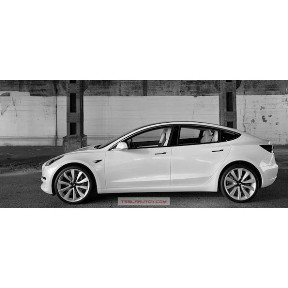 TESLA Model 3 Performance Pearl White Multi-Coat