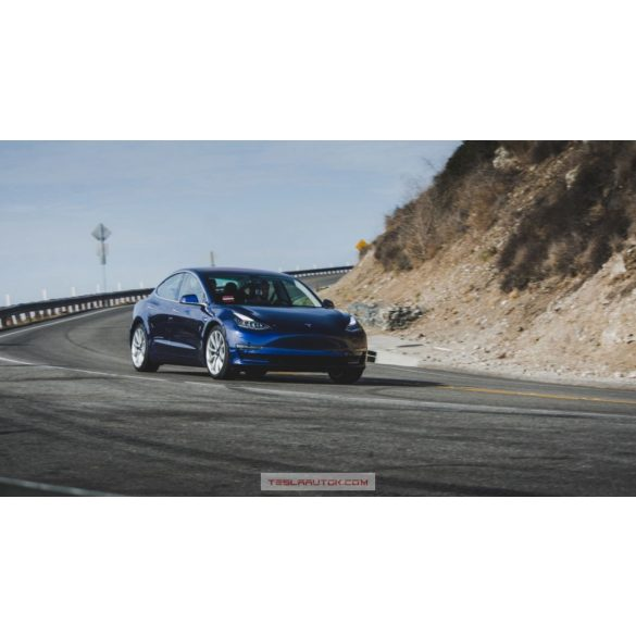 TESLA Model 3 Performance Deep Blue