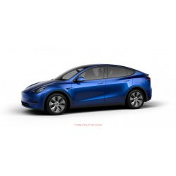 Model Y Long Range AWD Deep Blue Metallic