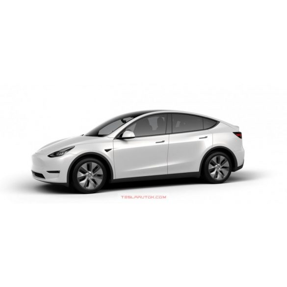Model Y Long Range AWD Pearl White